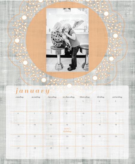 calendars - Lavish by Cut the Cake Designs
