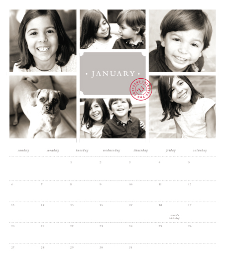 calendars - Gallery wall by Stacey Meacham