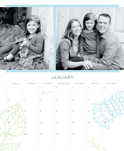 calendars - Garden Year by Fig and Cotton