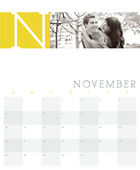 calendars - M is for Month by Ashley Ottinger