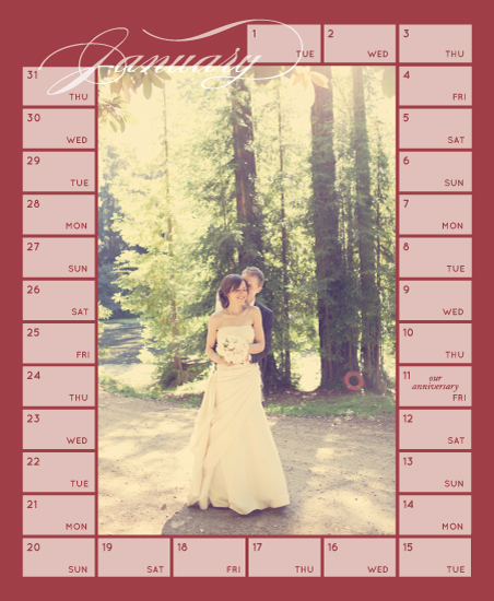 calendars - Elegant Frame by Madeline