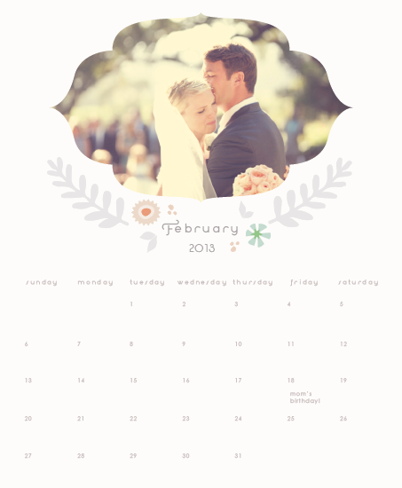 calendars - Blissful by Giselle Zimmerman