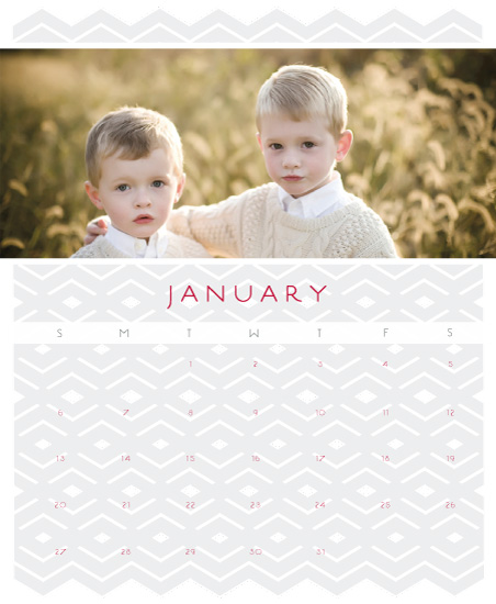 calendars - Delicate Geometric by Monica Schafer