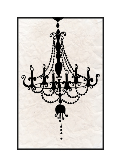 art prints - Chandelier  by Katie Zimpel