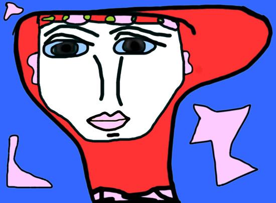 art prints - Children's Art: Magical Teenage Boy by Judy Kushner