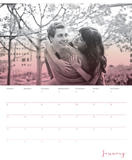 calendars - Ombre Aura by Jennifer Love King