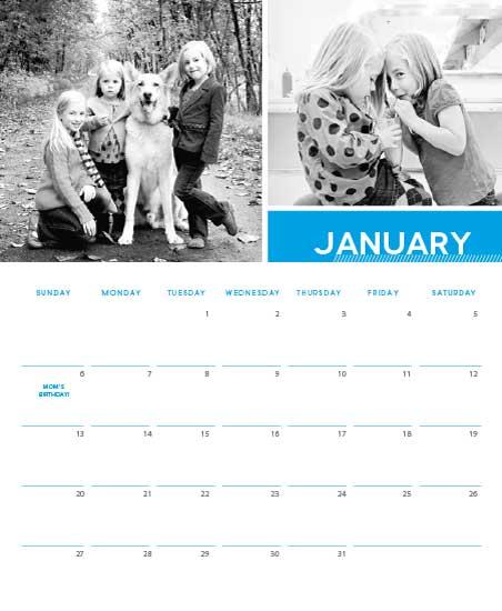 calendars - Grid by Michelle Secondi