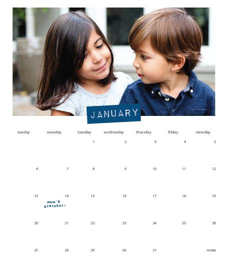 calendars - Label by Michelle Secondi