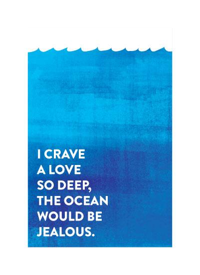art prints - The Ocean Blue by Eva Nashed