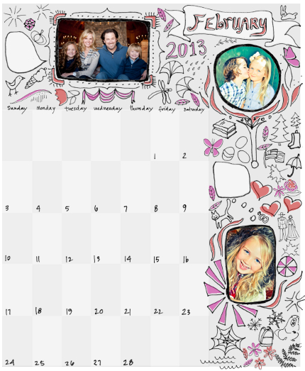 calendars - Perpetual Doodles by NomadicPoetryStudio