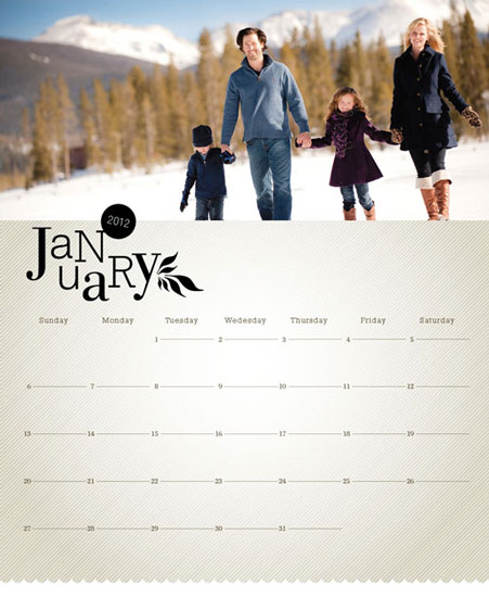 calendars - Simply Rustic by AVA Design