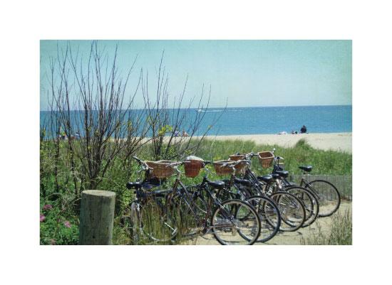 art prints - Nantucket Bike Ride by Paper Snack