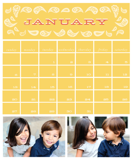 calendars - Pretty Paisley by Monica Schafer