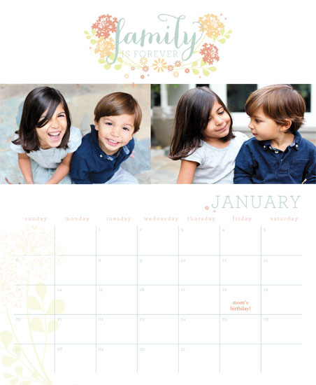calendars - Family Is Forever by Ashlee Proffitt