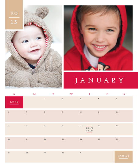 calendars - color band family by Traci Marquis