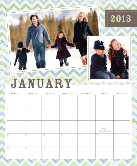 calendars - Vintage Zig by the co.co. studio
