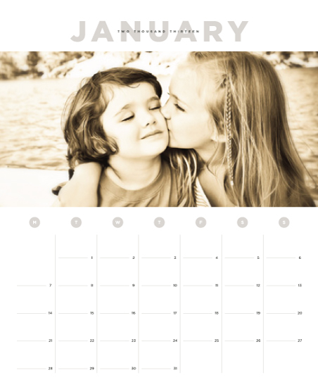 calendars - Big Month by Alston Wise