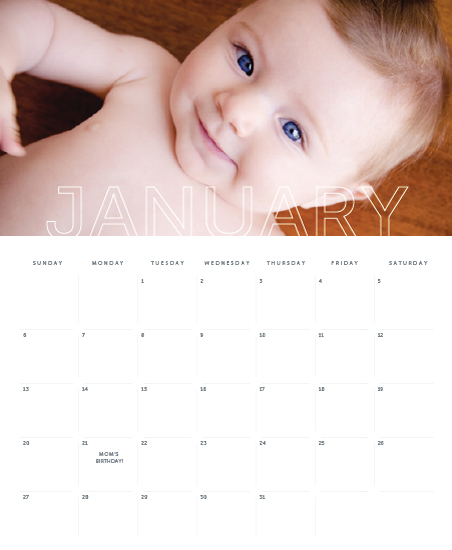 calendars - Outline by Michelle Secondi
