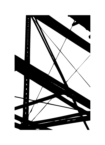 art prints - Construction by Becky Nimoy