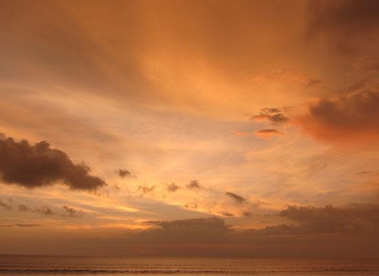 art prints - Orange Sky by Shaz