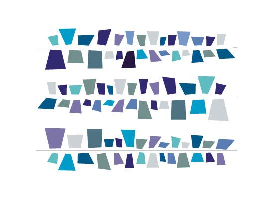 art prints - Blues by Jane Grizzle