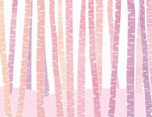 Pink Birch by Sharise Williams