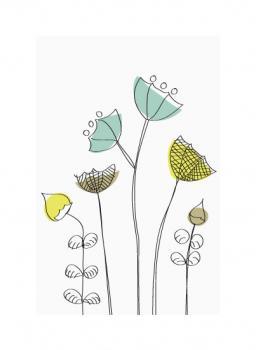 Whimsical Summer Flowers
