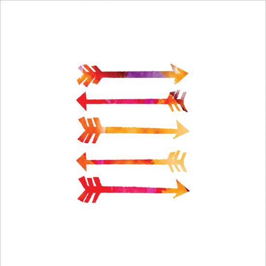 art prints - Painted Arrows by Shari Margolin
