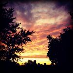 Boston Sunset by Jennifer Wehe
