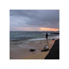 Stormy Poipu Sunset