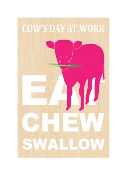 Cow's Day At Work