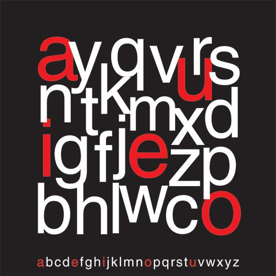 art prints - Alphabets  by Shaz