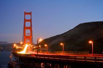 Golden Gate Rush Hour