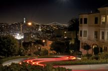 Lombard Light Trails by Horizon Photography