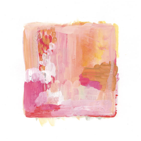art prints - Paint Study Sunset by Alethea and Ruth