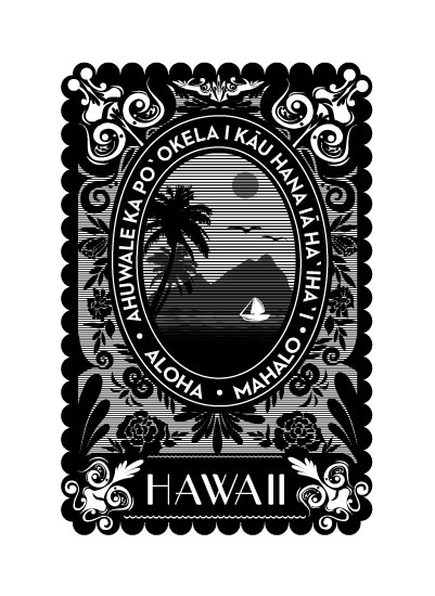 art prints - Aloha Spirit by Sole Paper Co.
