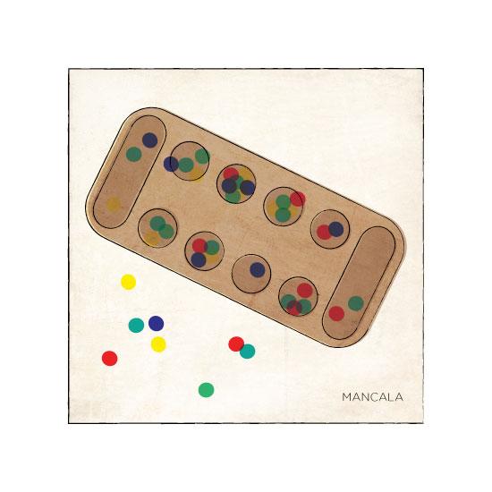 art prints - Mancala by Eva Nashed