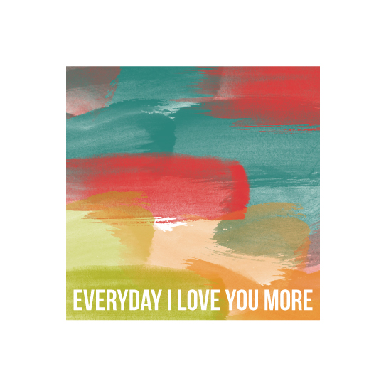 art prints - Love you More by Bethany Anderson