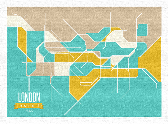 art prints - Transport for London by Keyonna