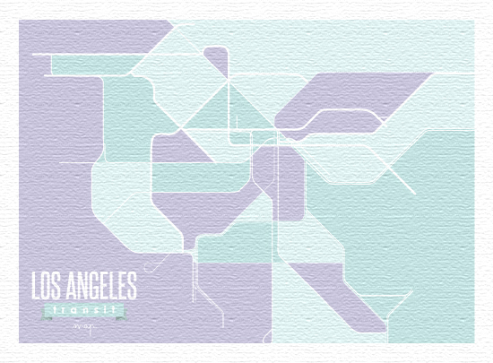 art prints - Transport for Los Angeles by Keyonna