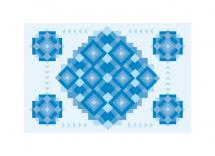 Blocks of Blue by Omar
