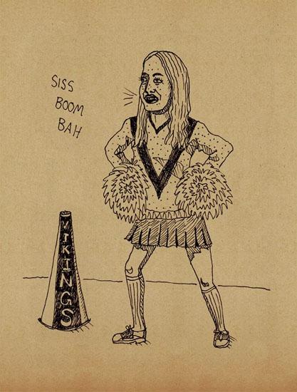 art prints - Siss Boom BAH! by Anita Drieseberg