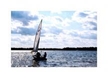 Sailing Lake Minnetonka by Amy Haggerty