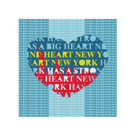 art prints - New York has a Kind Heart by Stellax Creative