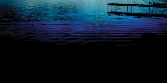 art prints - Lake Blue Hope by Fred Bledsoe