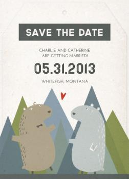 Bears Celebrate in the Mountains Tag
