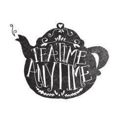 TEA TIME. ANY TIME.