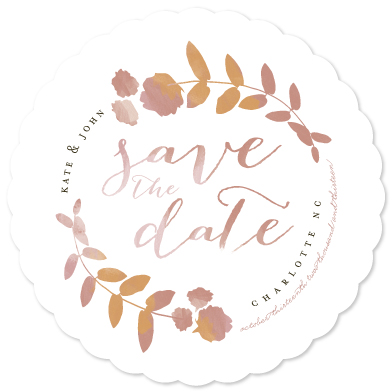 save the date cards - Sweet Nectar by Lori Wemple