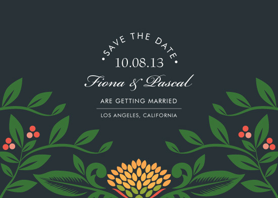 save the date cards - Greenhouse by Faiths Designs
