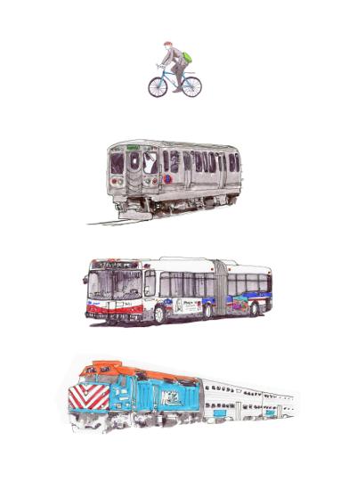 art prints - Chicago Fleet by NomadicPoetryStudio
